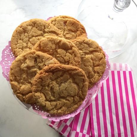 Crystallised Ginger Cookies