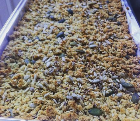 Mixed Seed Flapjacks